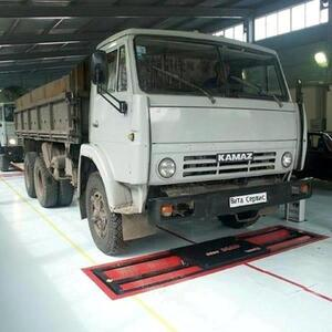 Линия тех.контроля для легковых, грузовых автомобилей и микроавтобусов до 13 т на ось ЛТК-С 13000.01