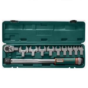 Динамометрический ключ 1/2 со шкалой 40-200 НМ и насадки 12-30 мм 11 предметов JONNESWAY T102001S