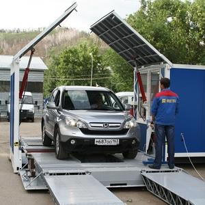 Универсальная мобильная контейнерного типа лтк для легковых и грузовых автомобилей ЛТК-М (МСД-13000)