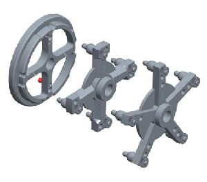 Набор адаптеров для колес грузовых автомобилей SIVIK КС-223