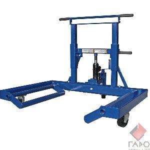 Тележка для снятия и транспортировки колес грузовых автомобилей 13401